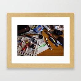 art background,  Framed Art Print