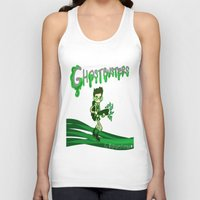 ghostbusters Tank Tops featuring Ghostbusters by Glopesfirestar