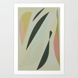 Abstract Composition No. 3 Art Print