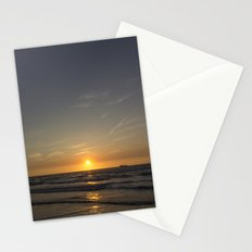 Lonely Sunset Stationery Cards