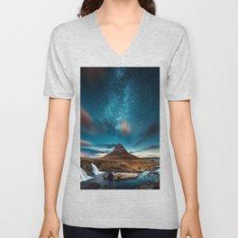 stars in sky Unisex V-Neck