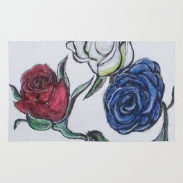 July 4th Roses Rug