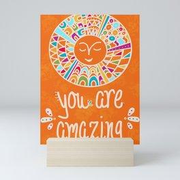 You Are Amazing Mini Art Print