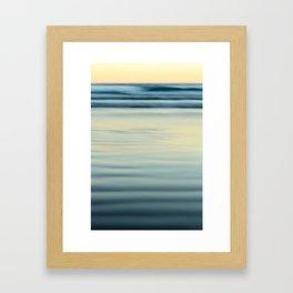 Winter Dusk Framed Art Print