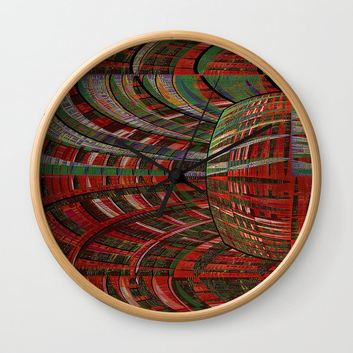 unexpected time warp Wall Clock