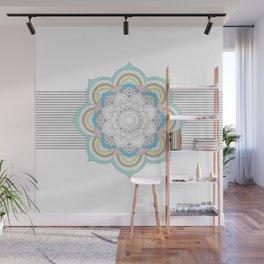 Pastel Mandala Wall Mural