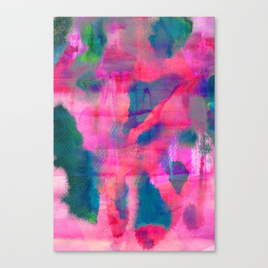Abstract Fifteen Canvas Print