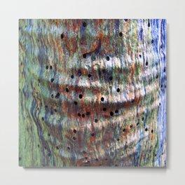 crinkles  Metal Print