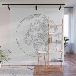 Blacksmith tools Globe- Brent Bailey Forge Wall Mural
