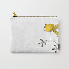 Nosy Bird Carry-All Pouch