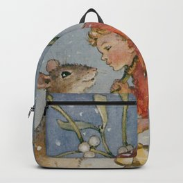 """The Bracken Fairy"" by Margaret Tarrant Backpack"