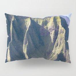 Hawaiian Magic: Angels' View Over Coastal Cliffs Pillow Sham