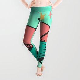 Love Heart Art Leggings