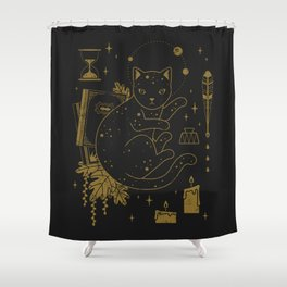 Magical Assistant Shower Curtain