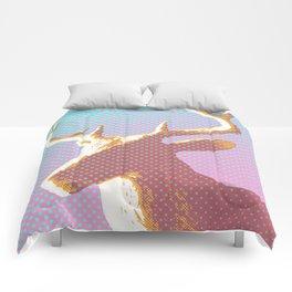 Dots on Deer Comforters