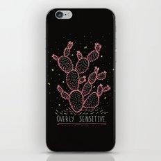 OVERLY SENSITIVE iPhone & iPod Skin