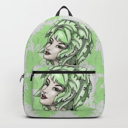 Elf Naughty Weird Portrait Backpack