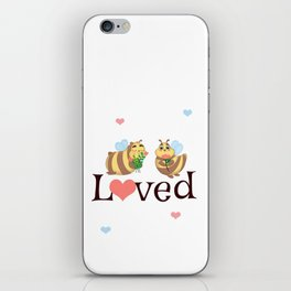 Be Loved iPhone Skin