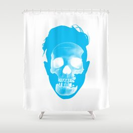 Hipster Head Shower Curtain