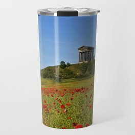 Penshaw Monument Poppys Travel Mug