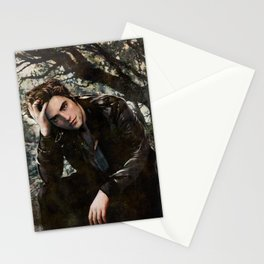 Robert Pattinson FAME comic book cover - Twilight Stationery Cards