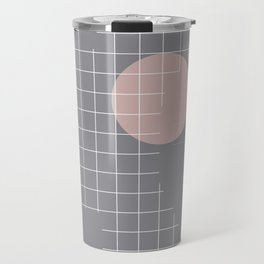 Neutral Gray #abstract #fall #color Travel Mug