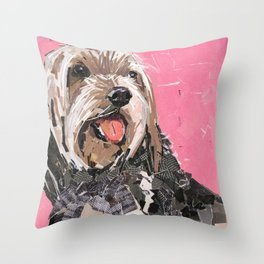 Rascal Throw Pillow