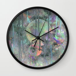 Nebular Spheres Wall Clock