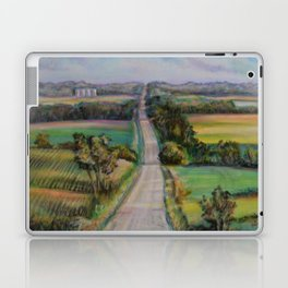 Country Road Across the Hills Laptop & iPad Skin