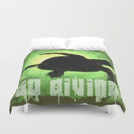 Go Diving! - Turtle Duvet Cover