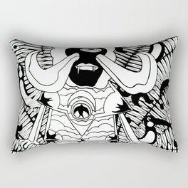 Prince Donster, Guardian of the Tropics (b/w) Rectangular Pillow