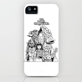 The Dark Crystal - Gelflings, Skeksis, and Mystics iPhone Case