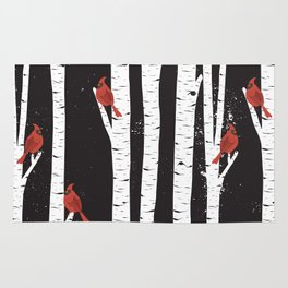 Northern Cardinal Birds Rug