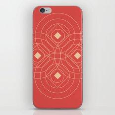 SOUND! Circle Square Pattern (Girl) iPhone & iPod Skin