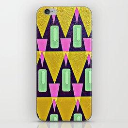 Velas pattern iPhone Skin