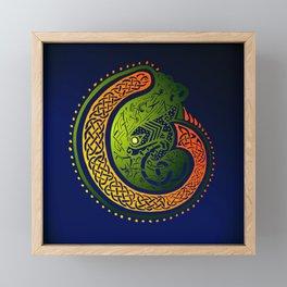 Celtic Twist Framed Mini Art Print