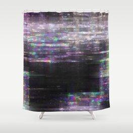 Glitch, please Shower Curtain