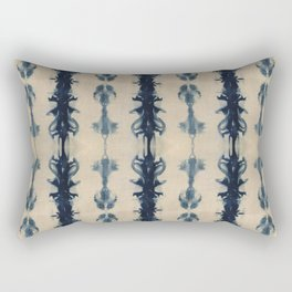 Shibori Flowers Rectangular Pillow