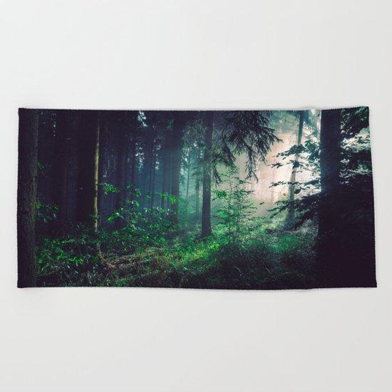 Wayward Wilderness Beach Towel