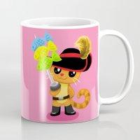 macaron Mugs featuring Oh My Macaron Fish  by Mayying
