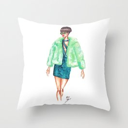 Going Places Throw Pillow