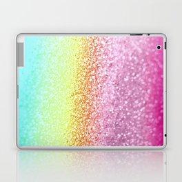 UNICORN GLITTER Laptop & iPad Skin