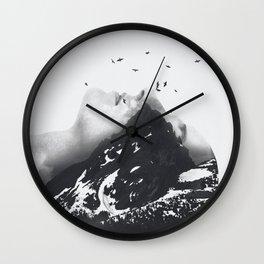 Mountain 46 Wall Clock