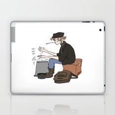 Travelling Musician Laptop & iPad Skin