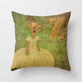 Princess Zibbo (Princess Monsters A to Z) Throw Pillow