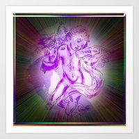 Heavenly Music - Angel Art Print