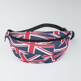 Union Jack Flags Fanny Pack