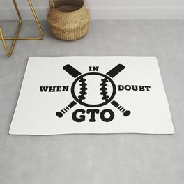 When in Doubt - Get the Out Rug