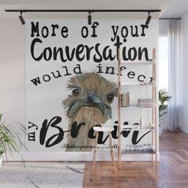 Infectious Conversation Wall Mural