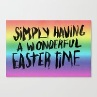 snl Canvas Prints featuring EASTERTIME by Josh LaFayette